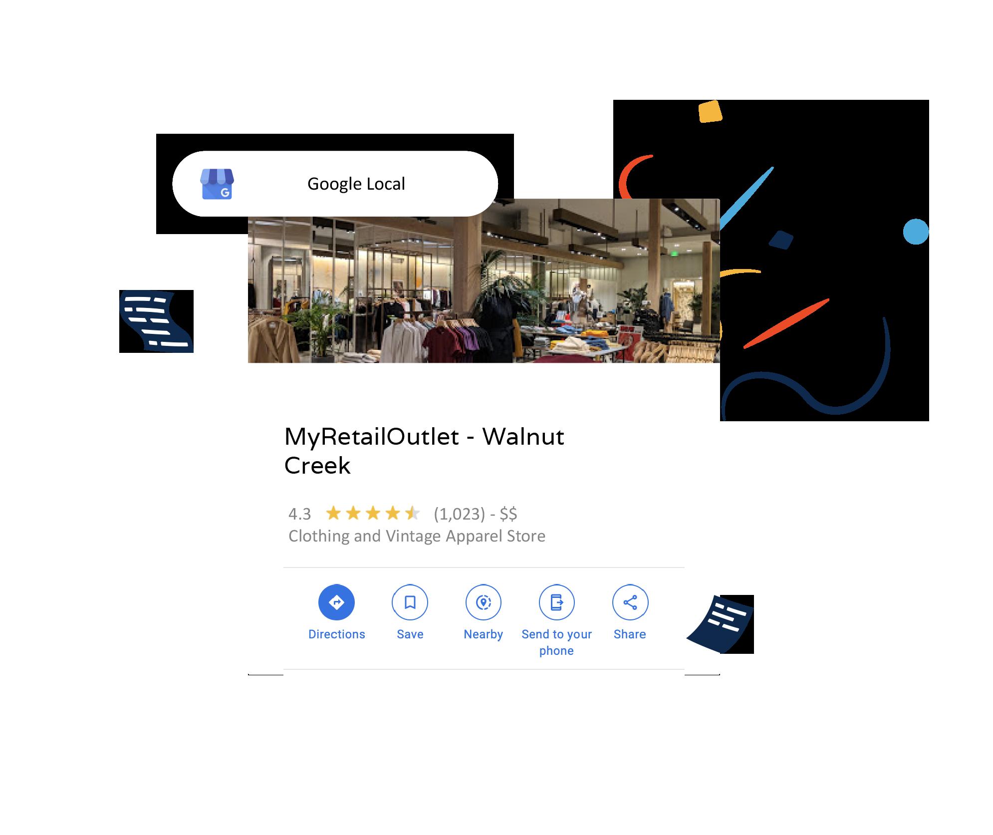 multiple store seller ratings for google